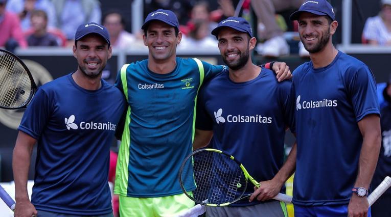 Equipo colombiano de tenis