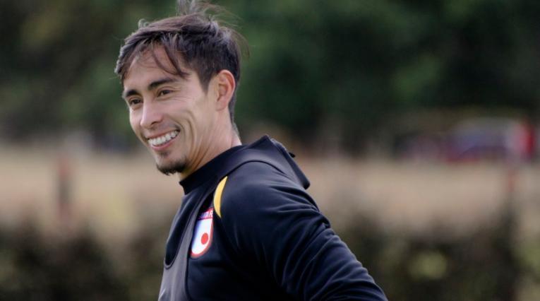 Fabián Sambueza, volante de Independiente Santa Fe