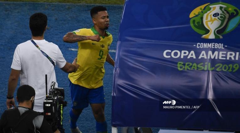 Gabriel Jesús, delantero brasileño