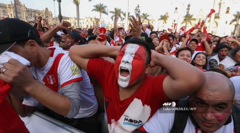 Hinchas peruanos en la Copa América 2019