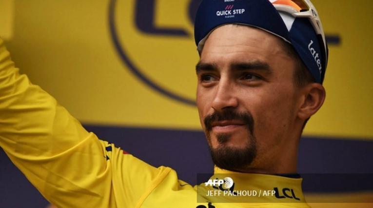 Julian Alaphilippe, actual líder del Tour de Francia 2019