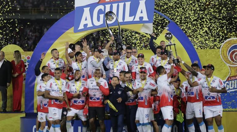 Junior campeón de la Liga Águila