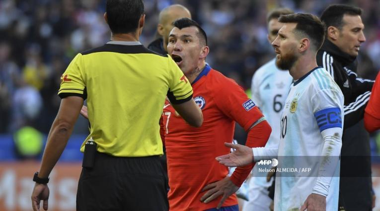 Gary Medel y el incidente con Lionel Messi