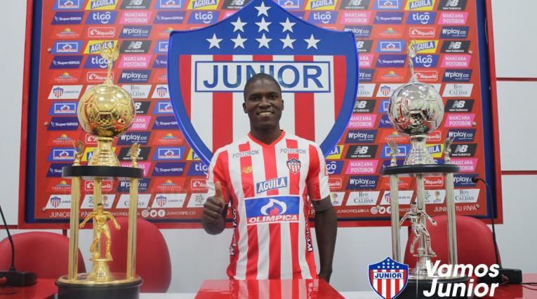 Germán Mera, nuevo jugador del Junior de Barranquilla