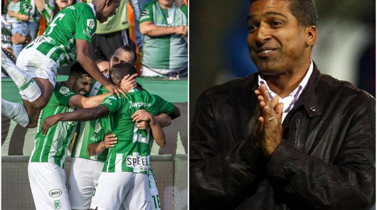 Jugadores de Atlético Nacional y Alexis García