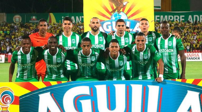 Atlético Nacional - equipo formado