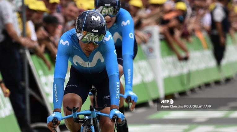 Nairo Quintana, colombiano del Movistar Team