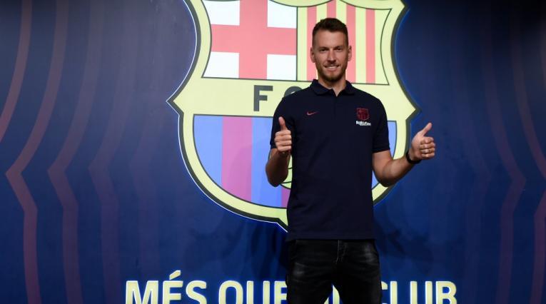 Neto, arquero del FC Barcelona