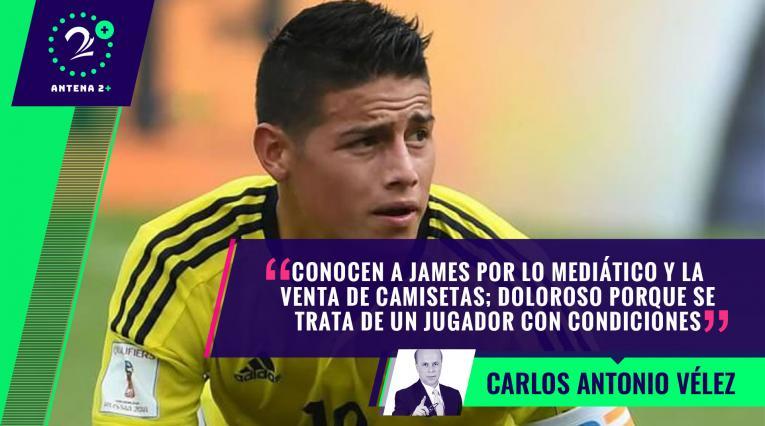 James Rodríguez con la Selección Colombia - Palabras Mayores