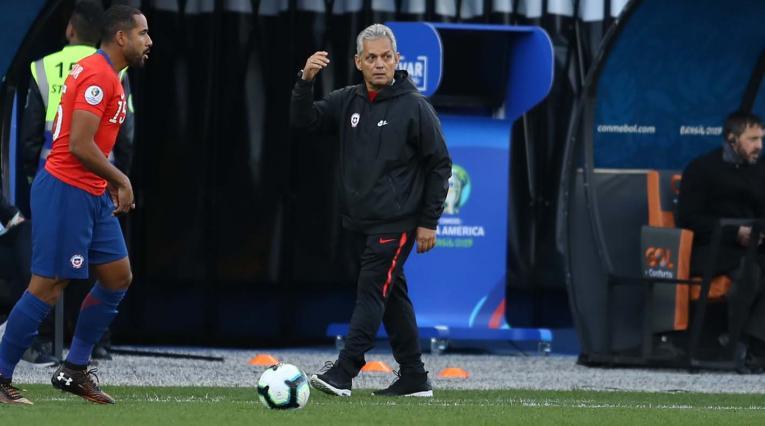 Reinaldo Rueda, técnico de la selección chilena