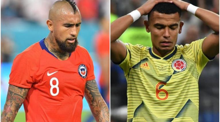 Arturo Vidal defendió a William Tesillo