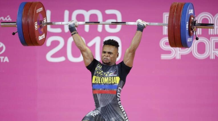 Francisco Mosquera ganó el oro para Colombia en pesas
