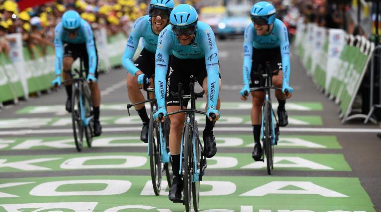Astana Team, equipo kazajo de 'Superman' López