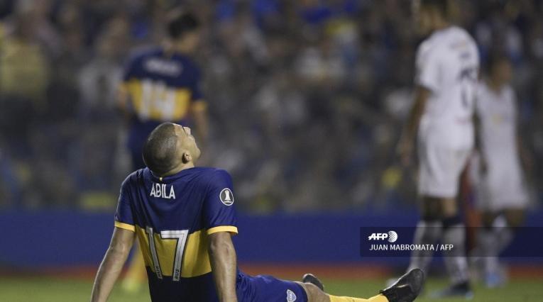 Ramón Ábila, delantero de Boca Juniors