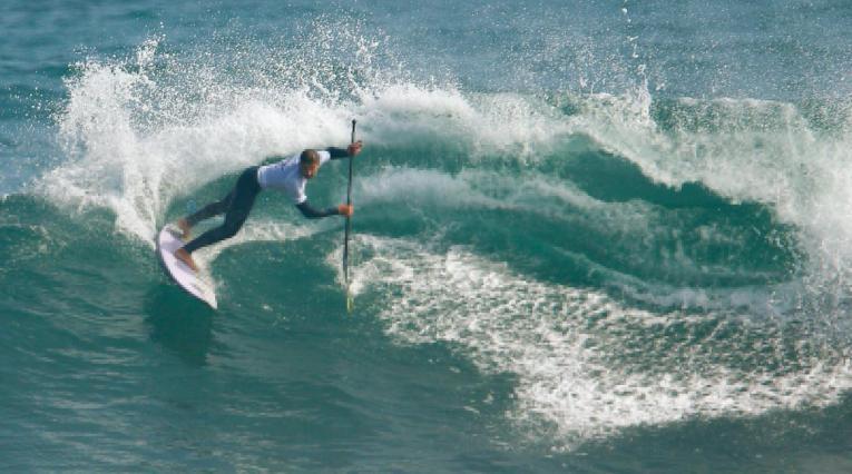 Giorgio Gómez, surfista colombiano en los Juegos Panamericanos