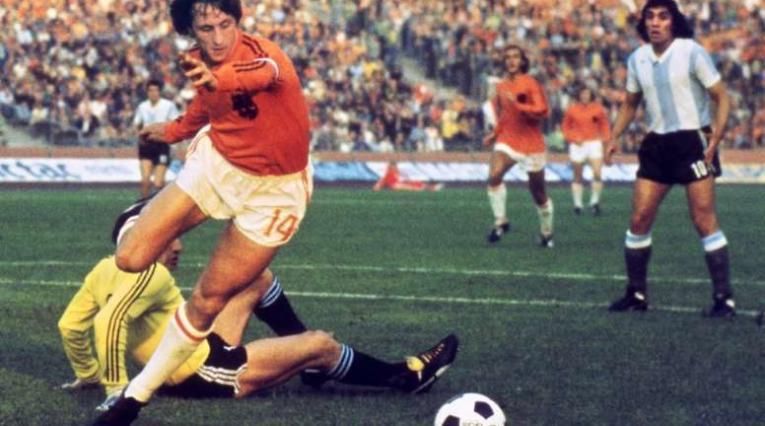 Johan Cruyff, exjugador holandés
