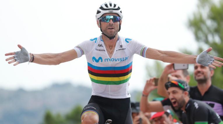 Alejandro Valverde ganó la séptima etapa de la Vuelta a España