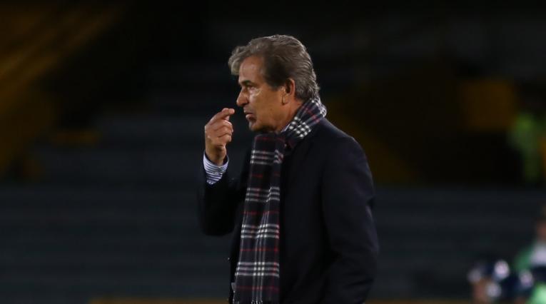 Jorge Luis Pinto, técnico de Millonarios