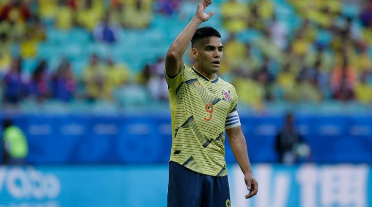 Falcao García, delantero de la Selección Colombia