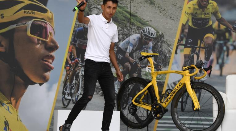 Egan Bernal, campeón del Tour de Francia
