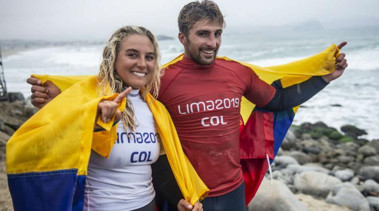 Isabella y Giorgio Gómez