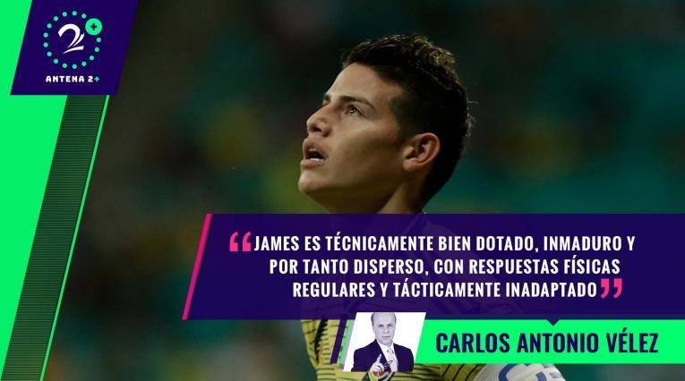James Rodríguez - Palabras Mayores