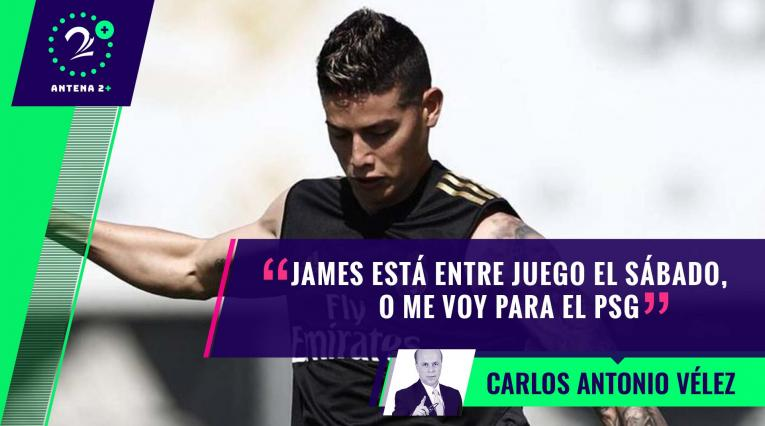 Palabras Mayores - James Rodríguez, entrenando con el Real Madrid