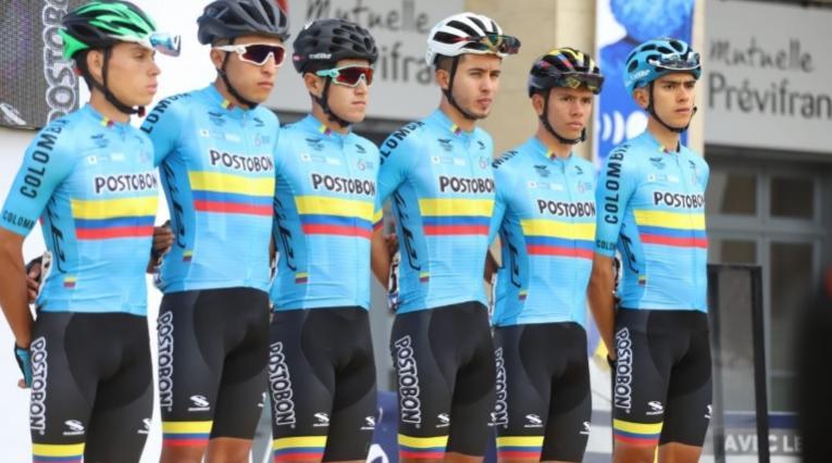 Tour de l'Avenir, equipo colombiano Manzana Postobón
