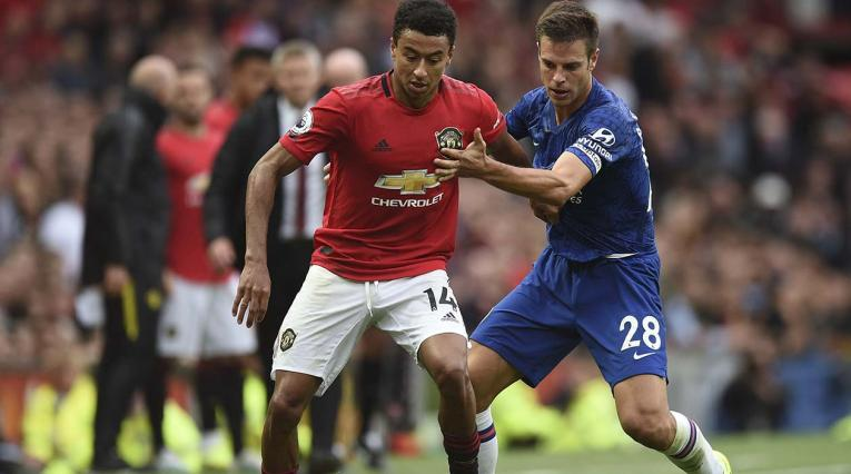 Manchester United contra el Chelsea