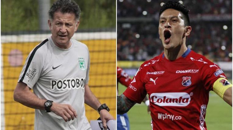 Juan Carlos Osorio y Germán Cano