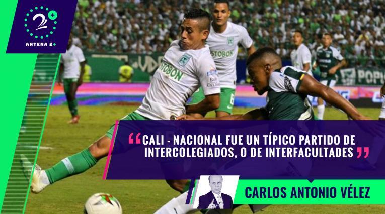 Deportivo Cali vs Nacional - Palabras Mayores