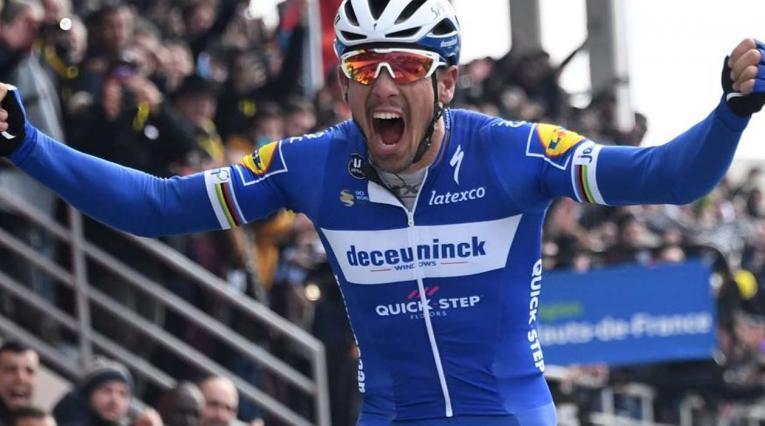 Philippe Gilbert, ciclista del Quick Step