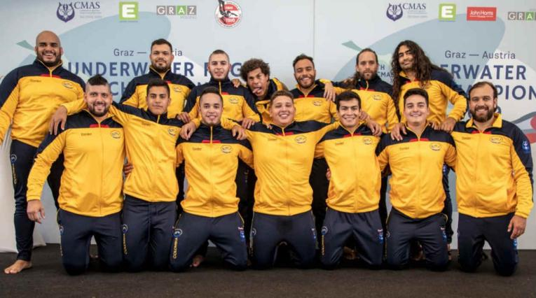 Selección Colombia de rugby subacuático