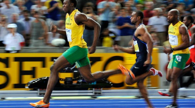 Usain Bolt, el hijo del viento.
