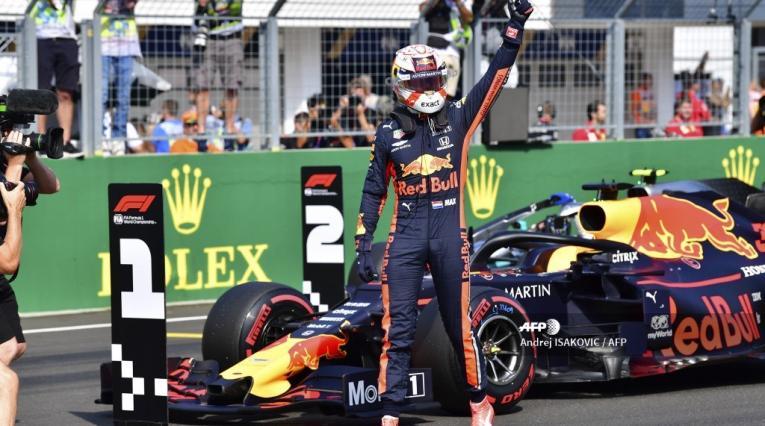Max Verstappen, piloto holandés