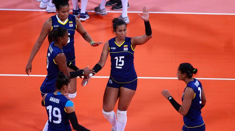 Colombia buscará ganar la medalla de oro en voleibol