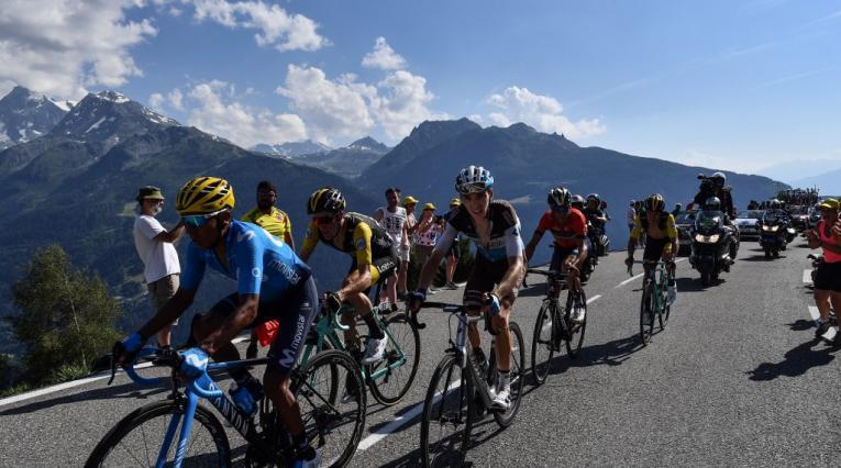 Nairo Quintana y Primoz Roglic - Tour de Francia 2018