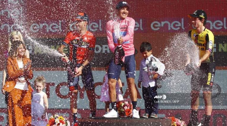 Richard Carapaz campeón del Giro de Italia 2019
