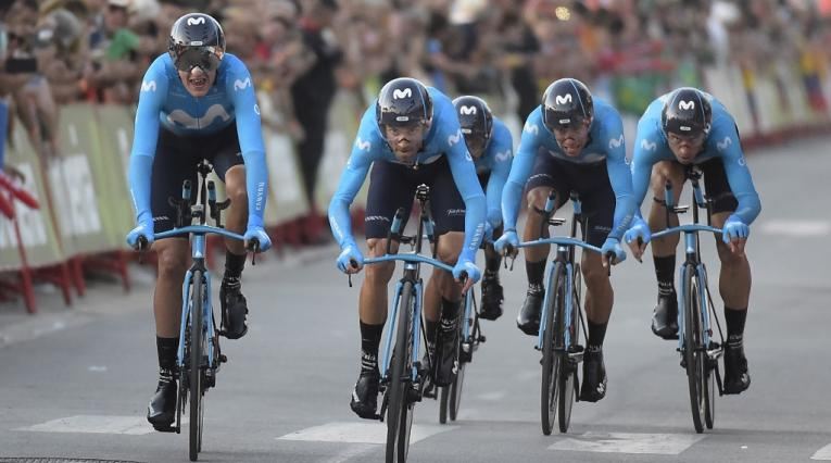 Movistar Team en el Tour de Francia