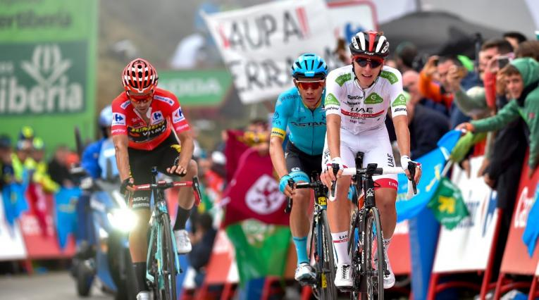 Pogacar, López y Roglic - Vuelta a España 2019