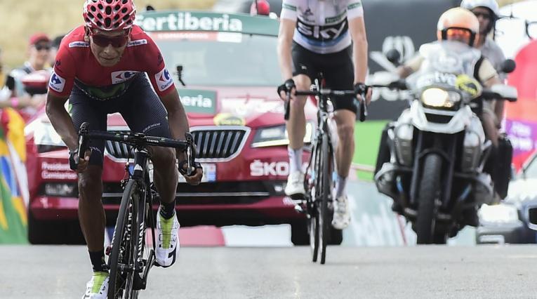 Nairo Quintana y Chris Froome - Vuelta a España 2016