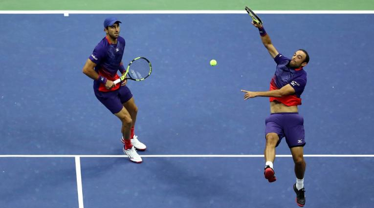 Cabal y Farah en la final del US Open 2019
