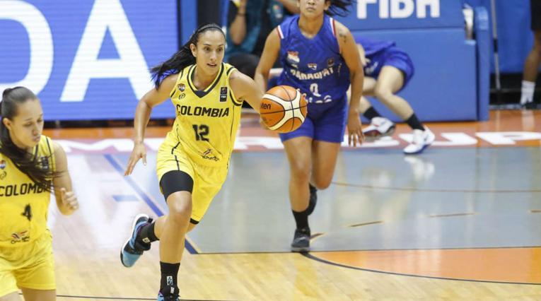 Colombia Vs. Paraguay - Baloncesto femenino