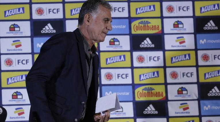 Carlos Queiroz, director técnico de la Selección Colombia