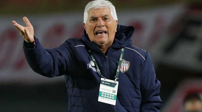 Julio Comesaña, técnico del Junior