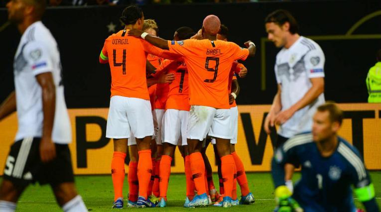 Holanda derrotó a Alemania