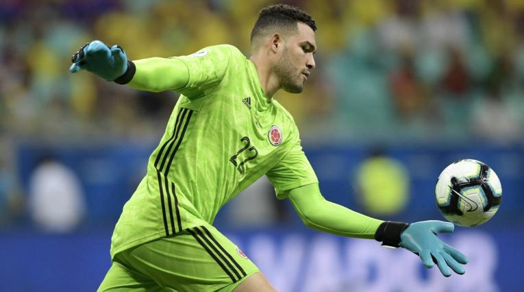 Álvaro Montero, arquero de la Selección Colombia