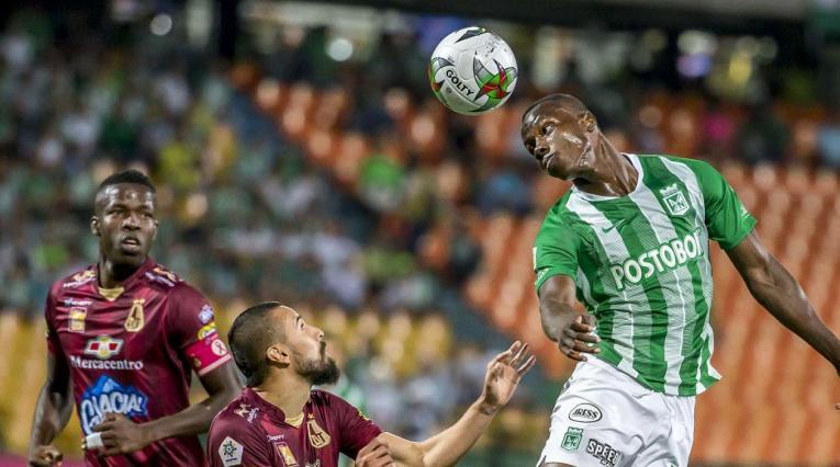 Deportes Tolima y Atlético Nacional
