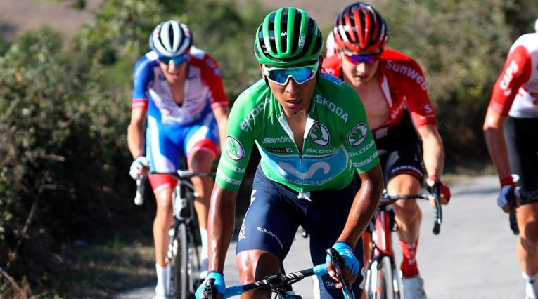 Nairo Quintana, Movistar, Vuelta a España