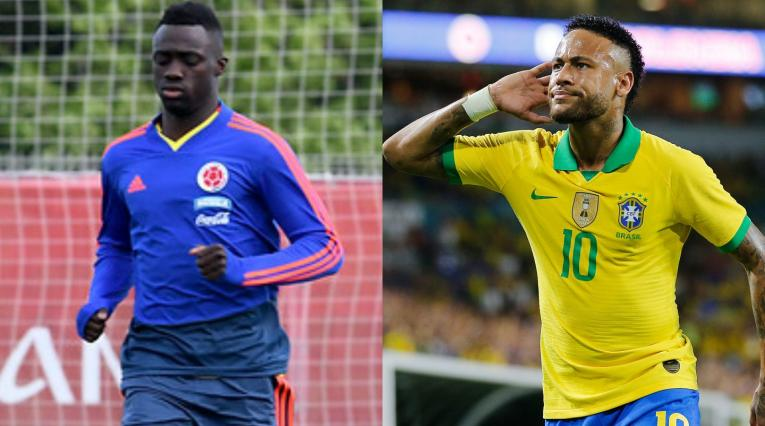 Neymar y Davinson